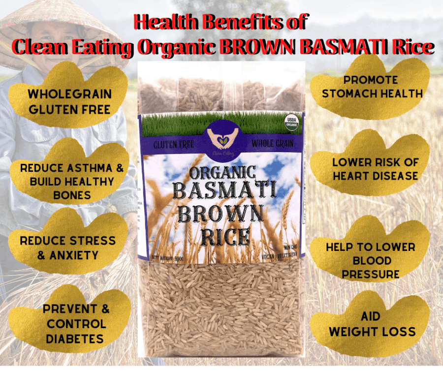 Organic Brown Basmati Rice Importer Wholesaler Distributor ...
